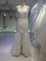 PoemsSongs Real Photo High Quality Custom Appliques Wedding Dresses Bridal Gowns Vestido De Noiva