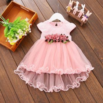Flower Newborn Baby Dress
