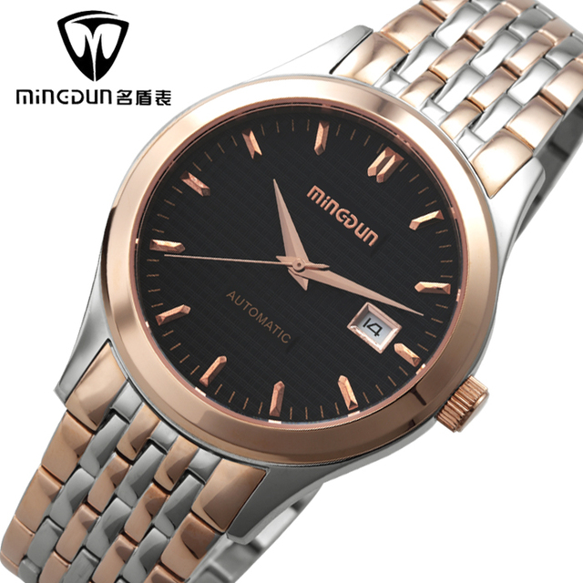 Fully-automatic mechanical watch mens watch business casual male watch vintage table waterproof