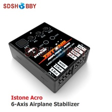 DETRUM Istone Acro 6-Axle Gyros & Stabilizer for RC Airplane 3D Fixed-wing Support Futaba SBUS PWM Signals