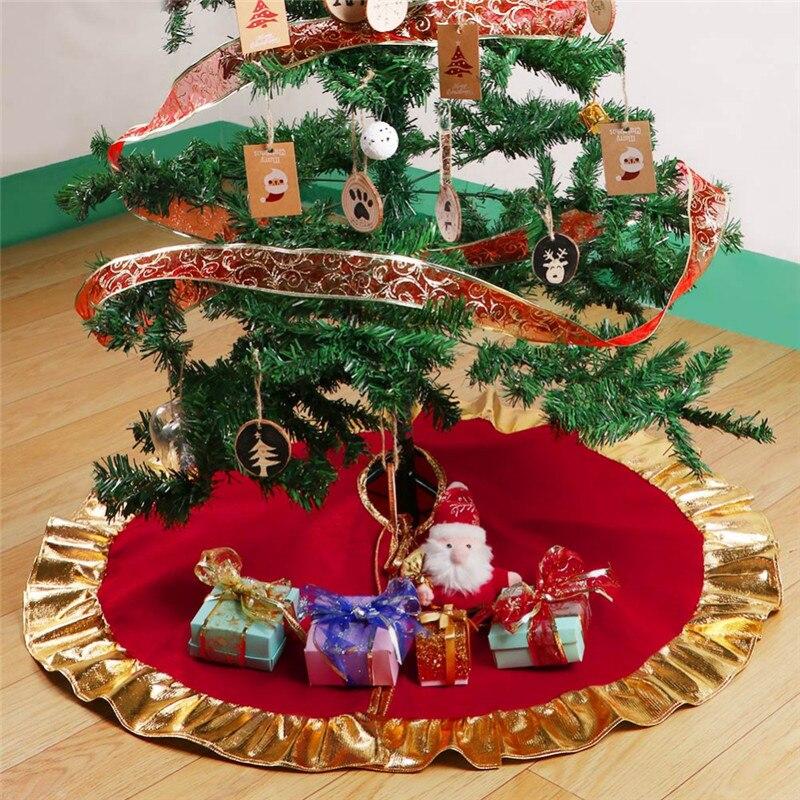 1PCS Red Christmas Tree Dress New Year Christmas Tree ...