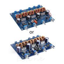 2019 hot new Assembled YJ TPA3116 4.1 class D Bluetooth amplifier board 4*50W+100W Module New