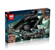 Lepin 16006 Caribbean pirate ship Building Blocks Black pearl Ship Compatible Legoed