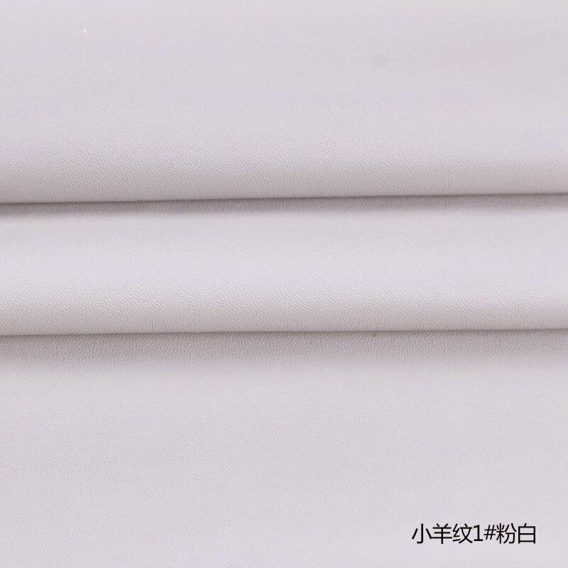 Accurato Di Alta Qualità Micro Modello Pecore 1 # Off Bianco Pu Pelle Tessuto Con Poco Elastico Per Mobili Fai Da Te Materiale Di Sacchetto (50x69 Cm)