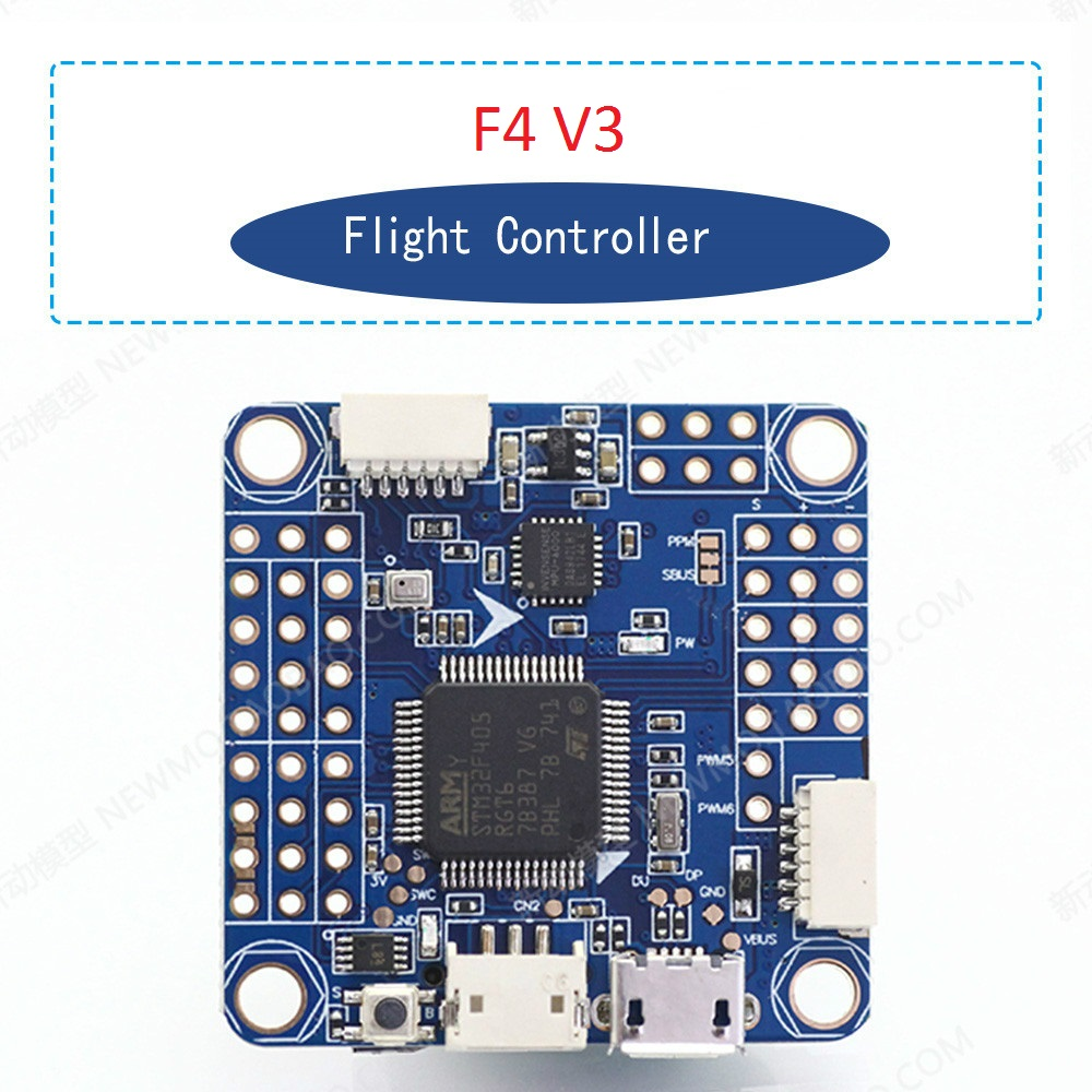 F4 Flight Controller F4 V3 Flight Controler Board Built-in OSD Barometer for Micro FPV Quadcopter RC Drone DIY Parts emax f4 magnum tower parts f4 flight controller 6 in 1 betaflight osd mini main board for rc racing drone quadcopter
