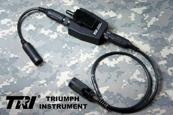 TRI G-Switch II Tactical Waterproof PTT for TRI AN/PRC-152 switch for ml7 54 g 5250