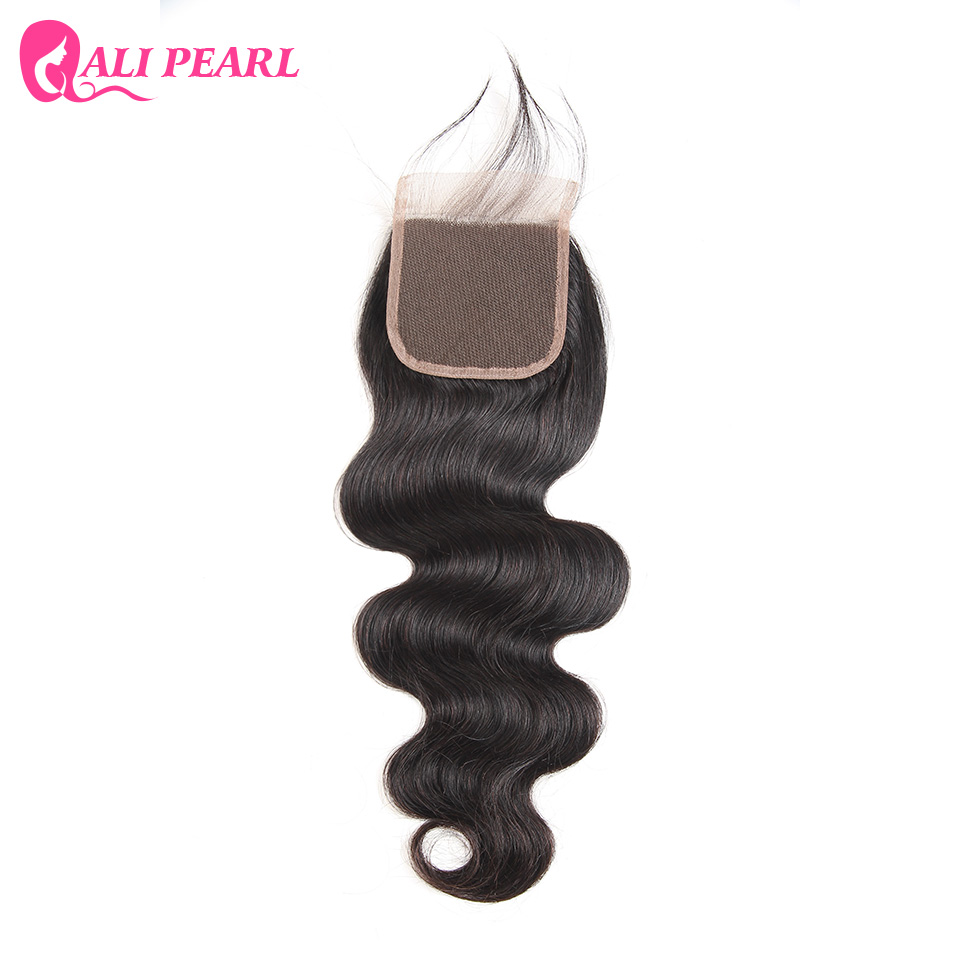 Where to buy hair closures - Order 1 Piece Alipearl Hair 100 Human Hair Lace Closure Brazilian Body Wave 4x4 Inch Free Part Remy
