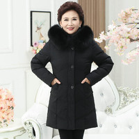 Plus size 8Xl 7Xl Middle aged fashion large yards thick down jacket PDB8897 Large size mother Coats Tops