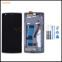 YUEYAO For 5 5 Oneplus 1 LCD Display Touch Screen Digitizer Assembly For Oneplus One A0001