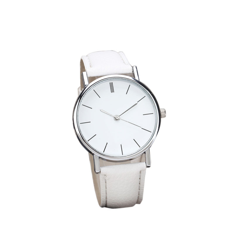 New Womens Retro Design Leather Band Analog Alloy Quartz Wrist Watch  High quality watches #120717 new fashion women retro digital dial leather band quartz analog wrist watch watches wholesale 7055