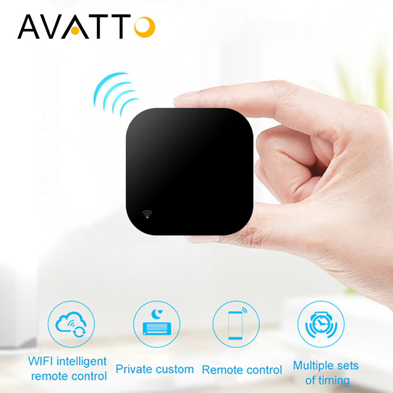 AVATTO S06 Mini Smart Home Automation 2.4GHz WIFI IR Remote with Alexa,Google home Voice Intelligent Universal Remote Controller-in Home Automation Modules from Consumer Electronics