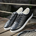 Fashion Soft Pu Leather Flat Oxford Shoes Man Brand Casual Shoes Lace Up Sewing Designer Men Dress Shoes Zapatos Hombre Platform