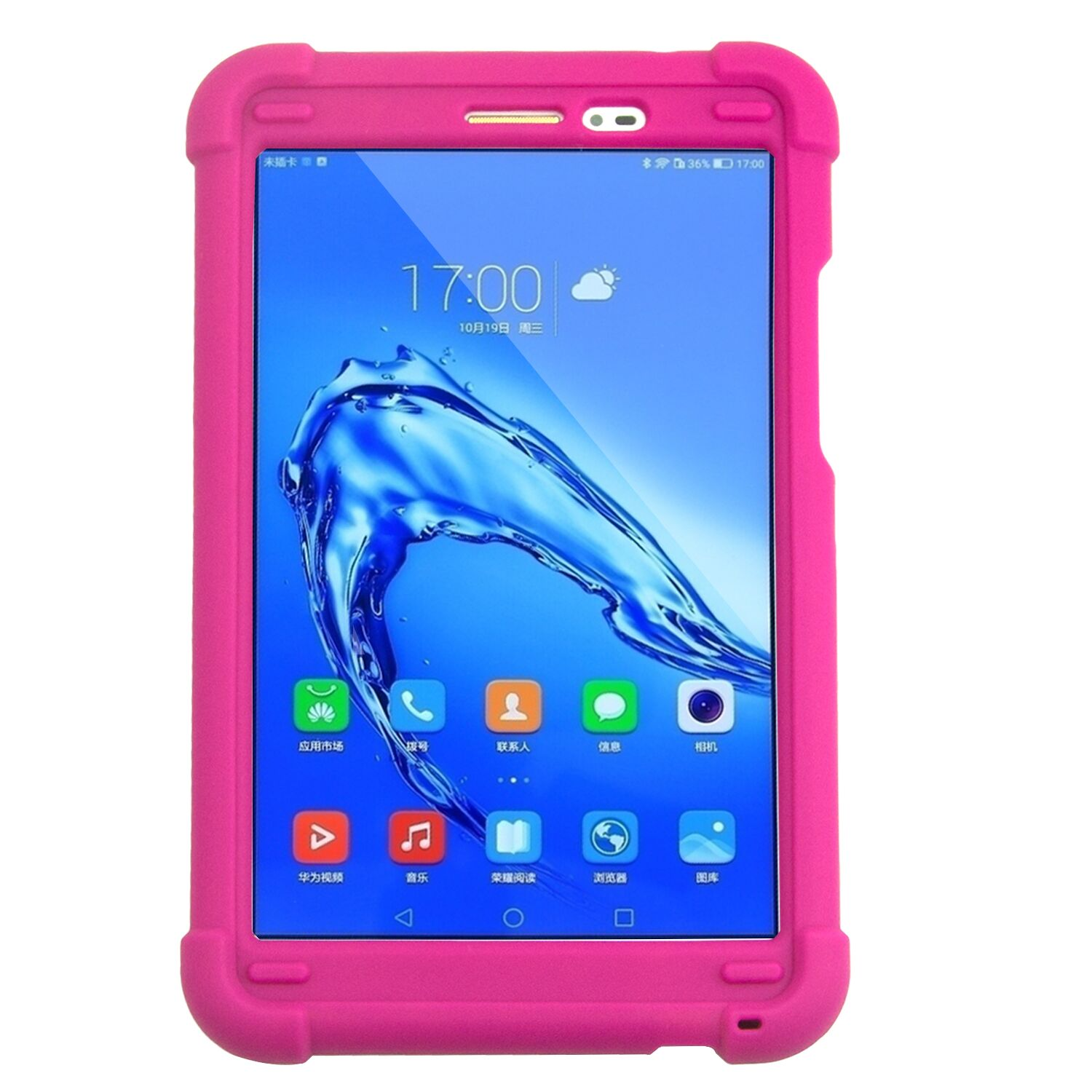 MingShore Rugged Cover For Huawei MediaPad T2 8 Pro JDN-L01 Honor Pad 2 Tablet 2 JDN-W09 JDN-AL00 8.0inch Silicone Tablet Case cover case for huawei mediapad m3 youth lite 8 cpn w09 cpn al00 8 tablet protective cover skin free stylus free film