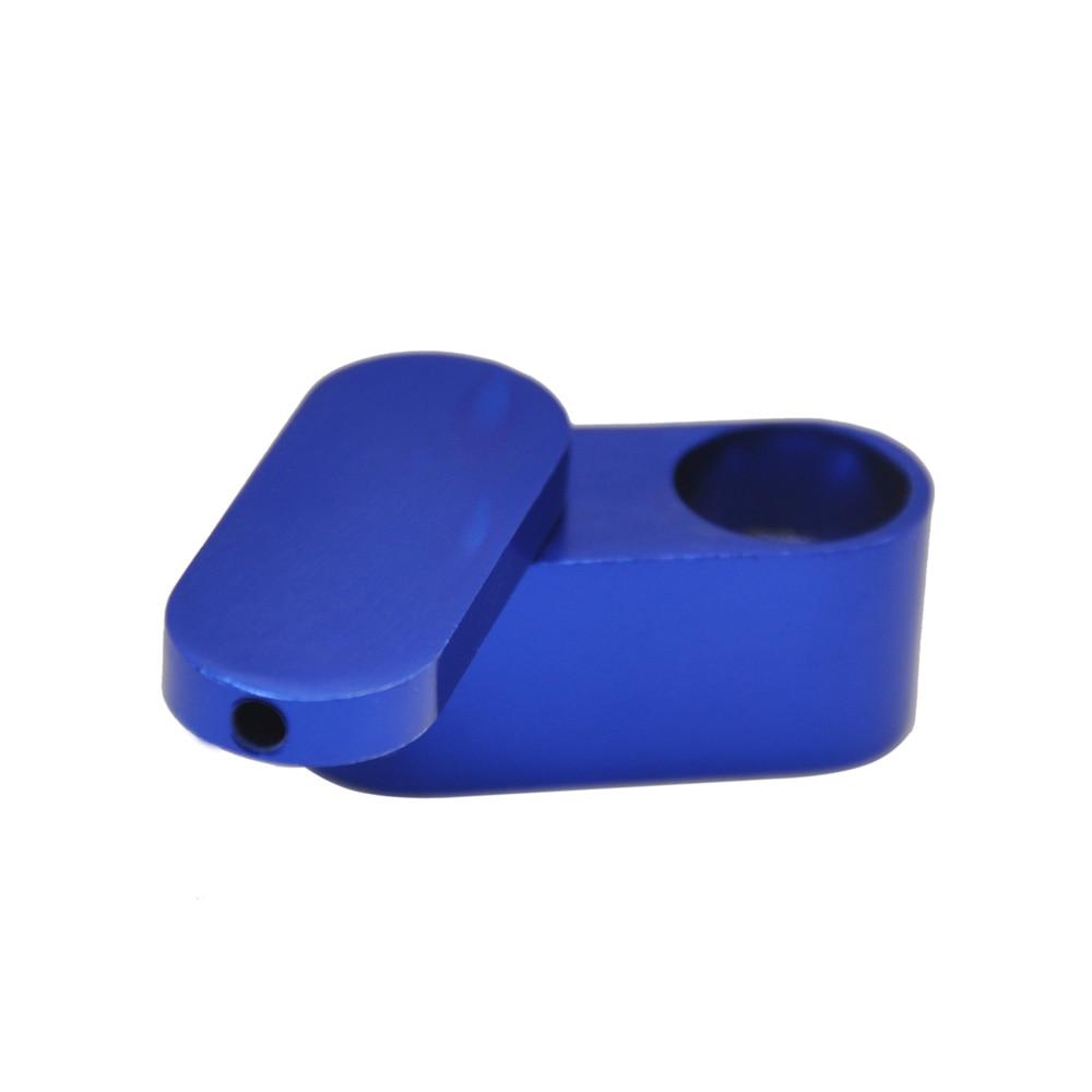 Rotation Portable Metal Pipe Creative Smoking Pipe Herb Tobacco Pipes Narguile Smoking Pipe Foldable Smoke Smoking Accessories