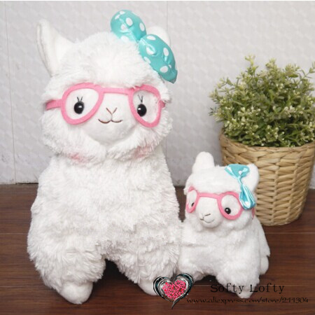 Alpacasso with glasses Group - Small and Middle
