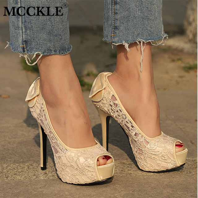 119a956b715b Source https   www.aliexpress.com item MCCKLE-Women-s-Sexy-Peep-Toe-Lace -Party-Shoes-Fashion-Hollow-Out-Platform-Bowtie-Pumps-2017 32773865467.html