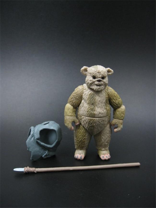 3.75''action figure  Star Wars Return of the Jedi Ewok Winnie people Chubby  (OPP BAGS )Z374 sw heir to the jedi