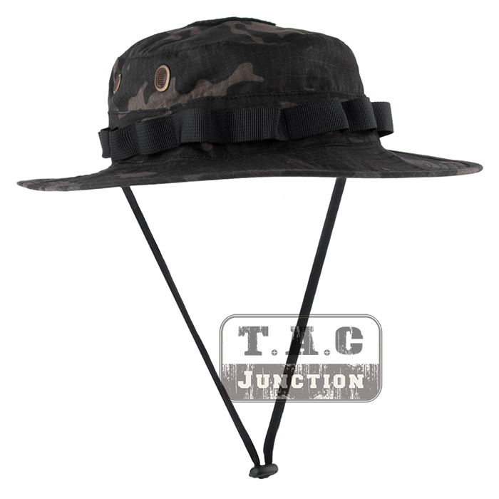 dccfd2abf7fdd Emerson Tactical Military Boonie Hat Emesongear Outdoor Hunting Fishing Hats  Headwear Multicam Black