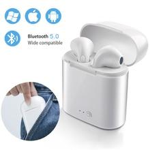 i7s TWS Mini Wireless Headphones Bluetooth 5.0 Earphone Ster