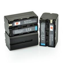 DSTE 3 unids NP-F750 Batería Recargable para Sony CCD-TRV65 CCD-TRV66 CCD-TRV67 CCD-TRV68 CCD-TRV715 CCD-TRV72 CCD-TRV75 Cámara