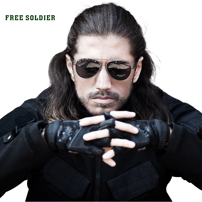 FREE SOLDIER Outdoor Sports Men s Tactical glasses polarizing sunglasses for outdoor riding and driver