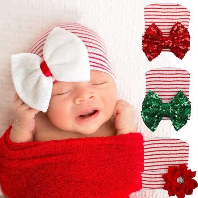 Tejer sombrero del invierno del bebé algodón suave recién nacido tapas para Niños  Niñas c81c1f97227