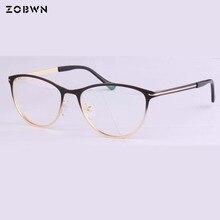 新 2018 ファッション Oculos デ grau feminino メガネフレームグラデーションカラー光学ブランドデザイン眼鏡フレーム女性 UV 近視