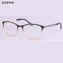Nuovo 2018 da sole di modo Oculos de grau feminino Occhiali cornici di colore di Pendenza ottico occhiali di disegno di marca delle donne UV per la miopia