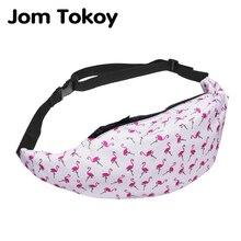 Waist-Pack Bum Bag Pack-Style Money-Belt Fanny Travelling Women New 3D Jom Tokoy