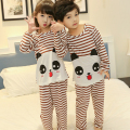 2017 New Kids Pajama Sets Baby Boys Girl sleepwear Clothes Homewear children Cute Cartoon Long Sleeve Pijamas free shipping