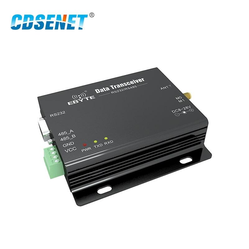 1 шт. E32-DTU-170L30 LoRa SX1278 170 МГц RS485 RS232 беспроводной Преобразователь Оригинальный CDSENET модуль VHF DTU сервер 170 м RF передатчик
