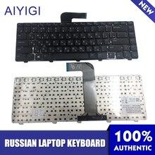 Russian Keyboard For DELL Inspiron 14R N4110 M4110 N4050 M4040 N5050 M5050 M5040 N5040 X501LX502L P17S P18 N4120 M4120 L502X