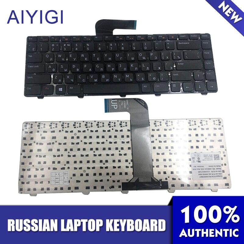 Russische Tastatur Für DELL Inspiron 14R N4110 M4110 N4050 M4040 N5050 M5050 M5040 N5040 X501LX502L P17S P18 N4120 M4120 L502X