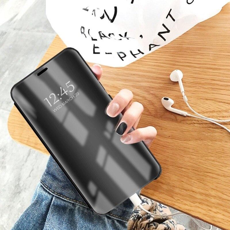 Smart Case για Xiaomi Redmi Note 4 Redmi 4X Case Mirror View PU - Ανταλλακτικά και αξεσουάρ κινητών τηλεφώνων - Φωτογραφία 5