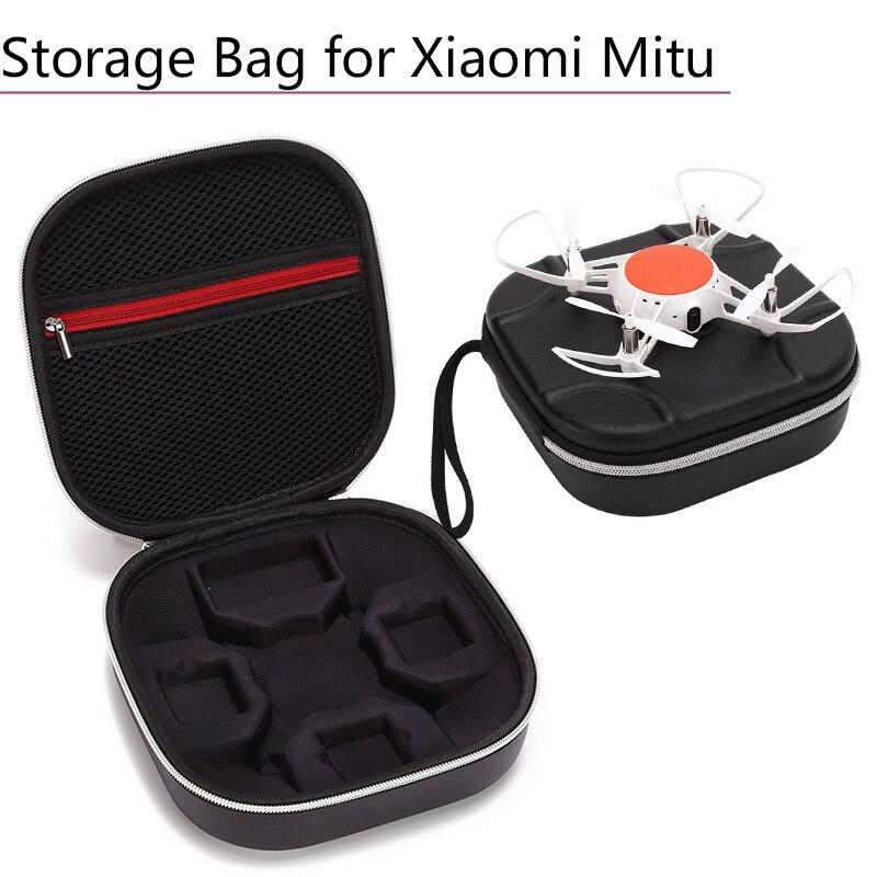 Portable Box for XIAO MI MiTu Drone Handbag Quadcopter PU Storage Bag Battery Safe Suitacase Carrying Case Protector Accessories