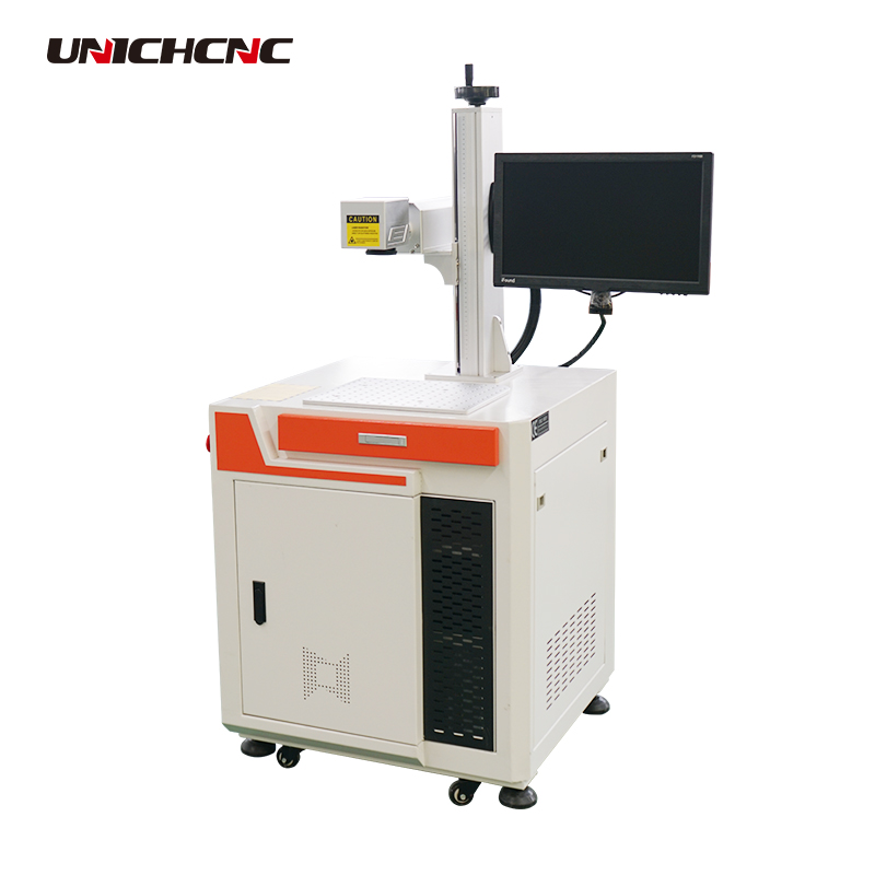 CE Standard Fiber Laser Marking Machine For Bird Ring 20w Raycus