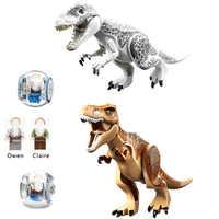 Jurassic Welt 2 Bausteine Park Legoings Dinosaurier Zahlen Bricks Duplos Tyrannosaurus Rex Indominus Montieren Kinder Spielzeug