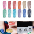 BORN PRETTY Nail Gel Polish 1 Bottle 10Ml Fur Effect Soak Off Nail Art UV Gel Polish Manicure 12 Colors