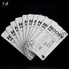 1000 zestawów partia 4w1 Noosy Nano Adapter karty Sim + adapter karty Micro Sim + standardowy Adapter karty SIM dla iPhone 8 7 6 tanie tanio Dwóch kart sim akcesoria garnitur SIM Card Adapter wholebuy