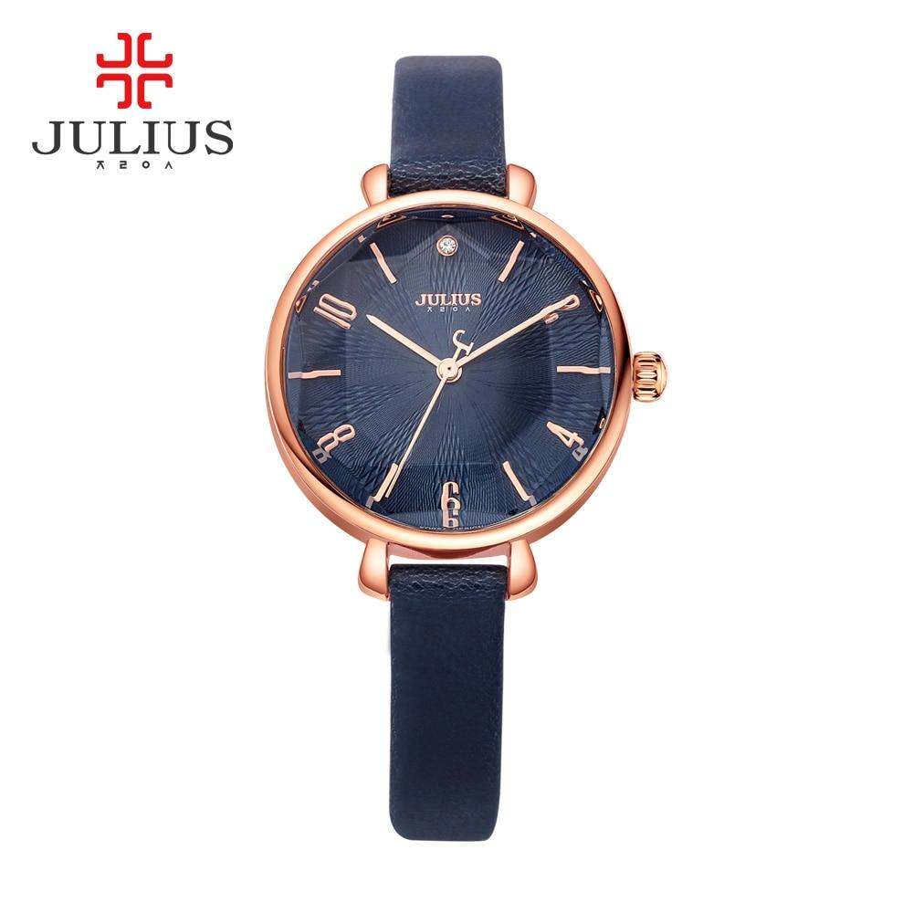 JULIUS Logo Watch Women Yellow Promotion Fashion Jewelry Clock Ladies Watches Waterproof Wristwatch Dropshipping Relogio JA