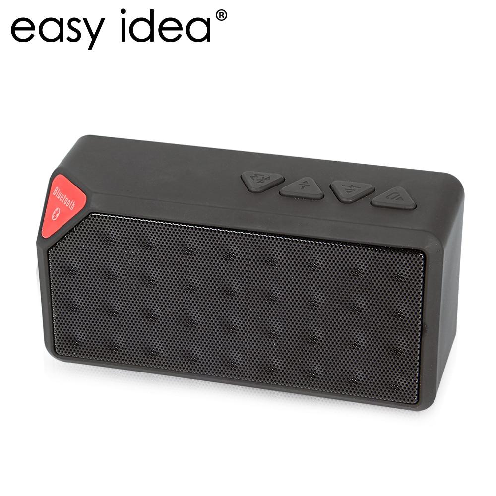 mini bluetooth speaker x3 tf usb fm radio aux wireless portable music sound box loudspeakers. Black Bedroom Furniture Sets. Home Design Ideas