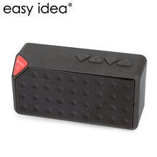 Mini Bluetooth Speaker X3 TF USB FM Radio AUX Wireless Portable Music Sound Box Loudspeakers Handfree with Mic for iOS Android
