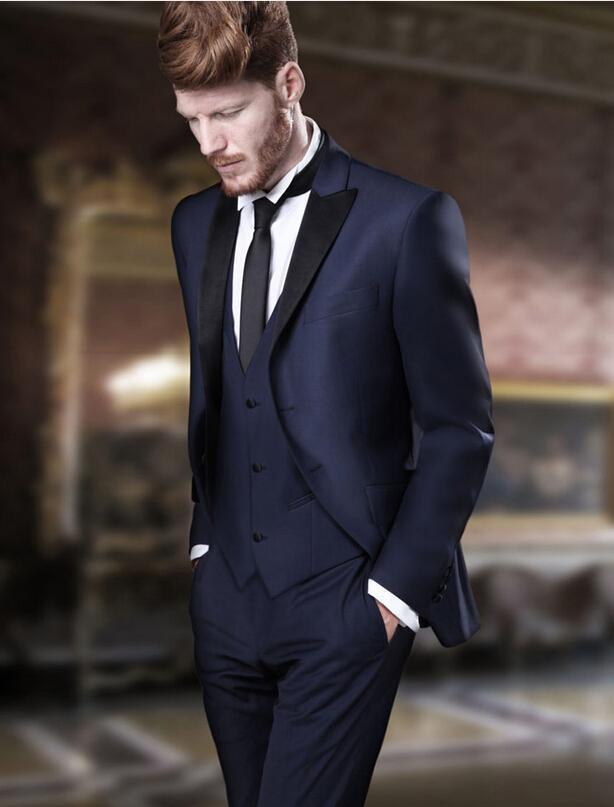 Online Get Cheap Navy Blue Suits for Men -Aliexpress.com | Alibaba ...