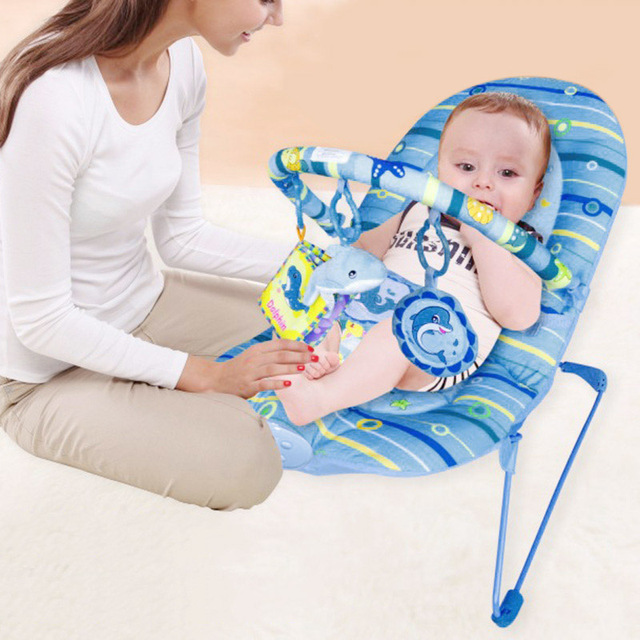 Baby Bouncer Rocker Baby Rocking Chair Portable Baby Swing Newborn Safety  Rocking Cradle Chai Toddler Bouncer