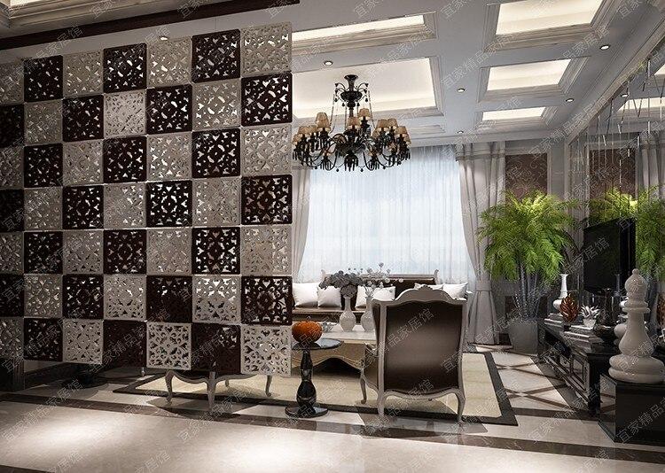 Aliexpresscom Buy Pcslot Entranceway Hanging Wooden Carved - Crystal hanging room divider