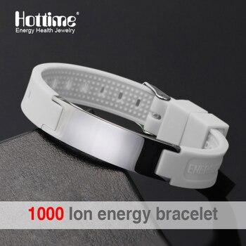 Power Silicone Wristband 4 In 1 Bio Elelents Energy Magnetic Wrist Band Keep Balance Bracelets 1