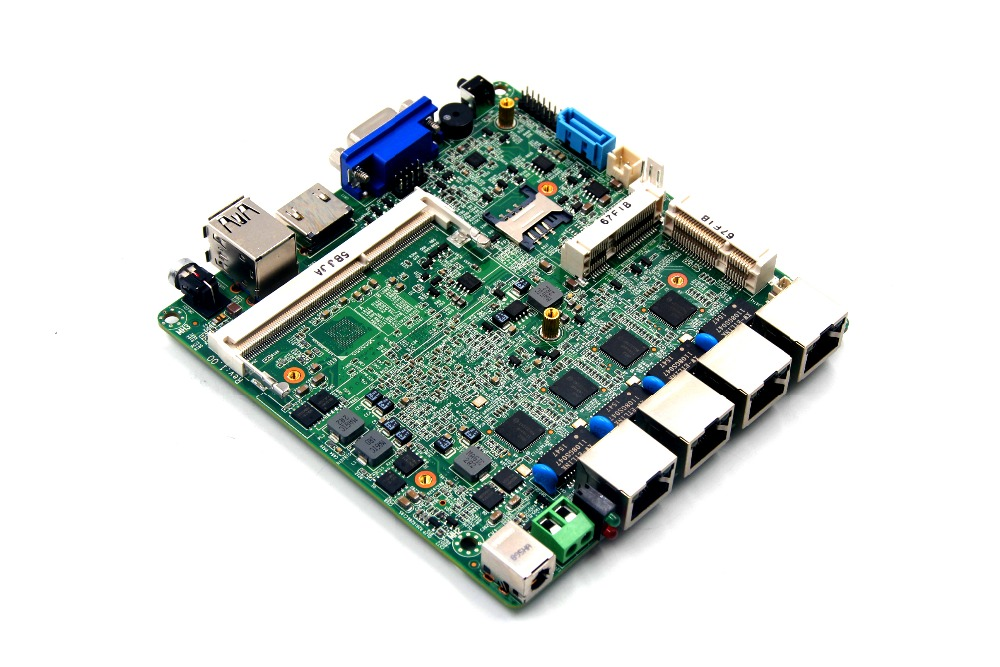 все цены на 4 * Intel Intel1211-AT firewall motherboard for network security and soft router онлайн