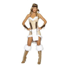 Sexy Disfraz Mujer Halterneck Halloween Costumes For Women Erotic Backless Christmas Costumes Sexy Cosplay Costumes CE321