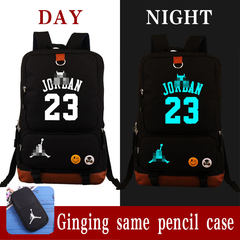 50a242ceb6d5 HOT SALE Michael Jordan 23 backpack USA basketball gods fans student bookbag  large USB charging laptopbag
