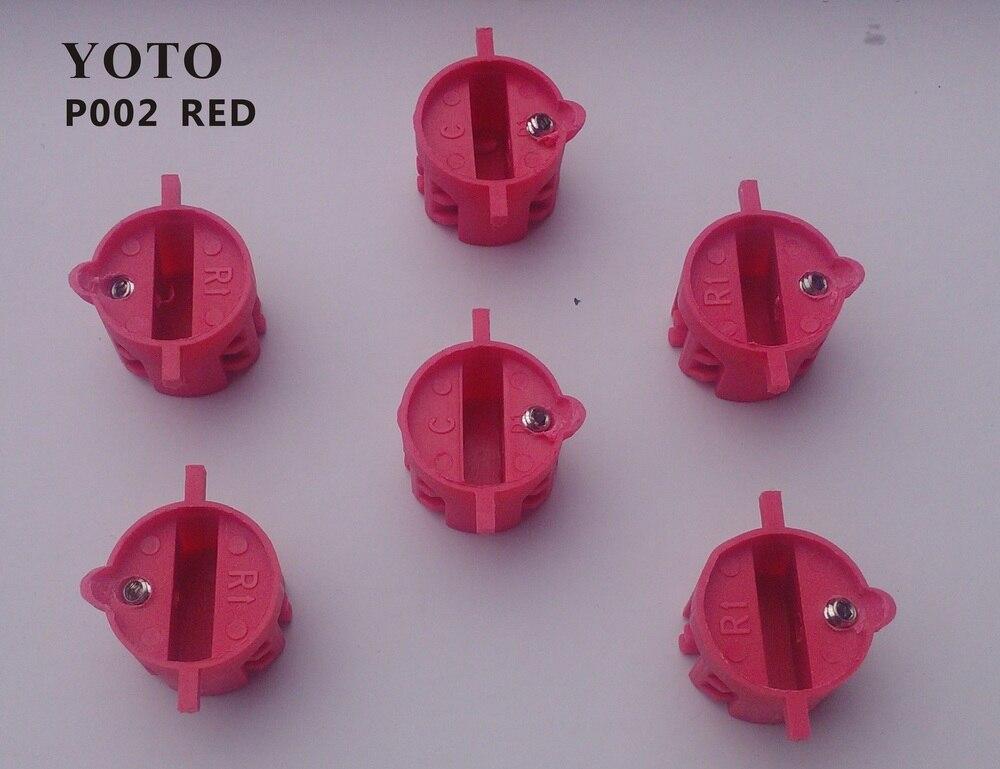 P002-Surfboard fin box/FCS X-2 fin plug/6pcs per set/Superior nylon materials/Blue and Red Color Options